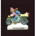 Fève à l'unité Les vélos de cirque II n°1 / 0.8p9b10