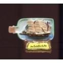 Fève à l'unité Une bouteille à la mer I n°4 / 0.8p14e14