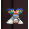 Fève à l'unité Le roi des z'acrobates n°8 / 0.8p15b2