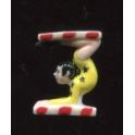 Fève à l'unité L'école du cirque n°1 / 0.8p18a1