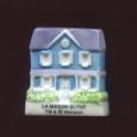 Fève à l'unité Tibère et la maison bleue n°1 / 0.8p27f4