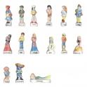 Série complète de 15 fèves Contines des rois I