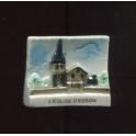 Fève à l'unité L'Eglise d'Esson n°1 / 0.3p14c2