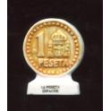 Fève à l'unité 12 monnaies pour un euro I n°2 / 0.5p1e2