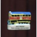 Fève à l'unité Des trains pas comme les autres I n°1 / 0.5p3f16