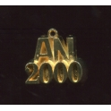 Fève à l'unité L'an 2000 n°1 / 0.5p22b4