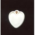 Fève plastique à l'unité Coeur n°1 / 0.5p24b1
