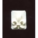 Fève plastique à l'unité Fleur de lys n°1 / 0.5p24d3