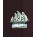 Fève à l'unité La marine royale II n°1 / 0.8p1c10