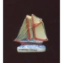 Fève à l'unité La marine royale II n°3 / 0.8p1e10
