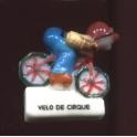 Fève à l'unité Les vélos de cirque I n°1 / 0.8p9a16
