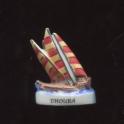 Fève à l'unité Les bateaux anciens n°1 / 0.8p23c2