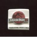 Fève à l'unité Jurassic Park III n°4 / 0.8p28e13