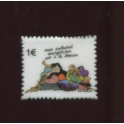 Single feve from BD timbres n°2 / 0.8p29d8