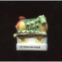 Fève à l'unité Trains en folie II n°2 / 0.8p38e12