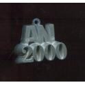 Fève à l'unité L'an 2000 II n°1 / 0.8p49c12