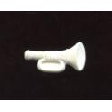 Fève plastique à l'unité Trompette n°1 / 0.8p51e3