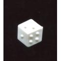 Fève plastique à l'unité Dé n°2 / 0.8p51e4