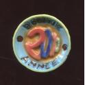 Fève à l'unité Assiette 2000 n°3 / 1.0p11b16