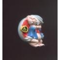 Fève à l'unité Looney Tunes magnets n°1 / 1.0p35f7