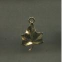 Fève à l'unité Pendentifs feuilles d'or n°6 / 1.0p46e8