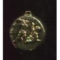 Fève à l'unité Les 12 travaux d'Hercule or n°7 / 1.2p25f5