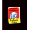 Single feve from Plaques émaillées pompiers n°4 / 1.0p18c6