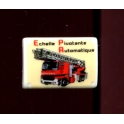 Single feve from Plaques émaillées pompiers n°7 / 1.0p18f6