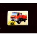 Fève à l'unité Plaques émaillées pompiers n°9 / 1.0p18b7