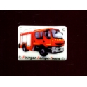 Single feve from Plaques émaillées pompiers n°10 / 1.0p18c7