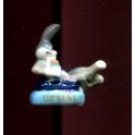 Fève à l'unité L'été des Looney Tunes n°1 / 1.0p35f5