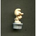Fève à l'unité Statues Schtroumpfs n°3 / 1.0p29c6