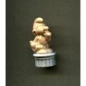Fève à l'unité Statues Schtroumpfs n°4 / 1.0p29d6