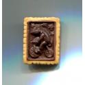 Fève à l'unité Biscuits circus 3 chocolats n°1 / 1.2p2a1