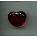 Fève à l'unité Coeur en verre n°1 / 1.5p1a5