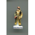 Fève à l'unité Pompiers Heroic New-York 2001-2021 n°4 / 1.5p1e26