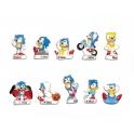 Complete set of 10 feves Super Sonic