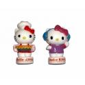 Série complète de 2 fèves Hello Kitty médium