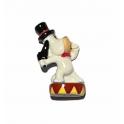Fève à l'unité Droopy circus n°1 / 1.3p1f16