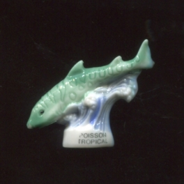 Single feve from Les poissons tropicaux n°2 / 0.3p10b1