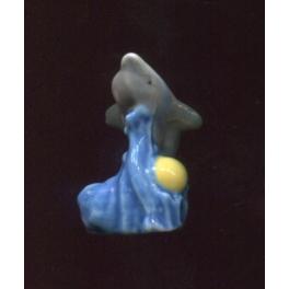 Fève à l'unité Les dauphins n°1 / 0.3p10d9