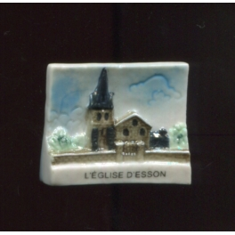 Single feve from L'Eglise d'Esson n°1 / 0.3p14c2