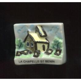 Fève à l'unité La chapelle St Benin n°1 / 0.3p14d2