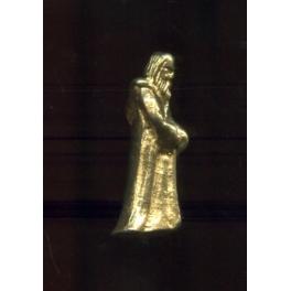 Fève à l'unité Santons prestige or brillant n°10 / 0.3p15b5