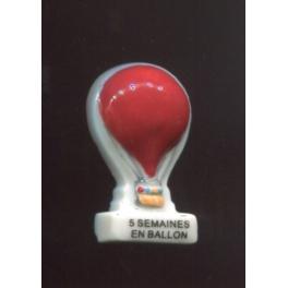 Fève à l'unité Les romans de Jules Verne IV n°6 / 0.5p3e7