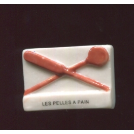 Single feve from Les rois du fournil n°3 / 0.5p4e10