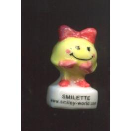 Fève à l'unité Smiley junior et Smilette n°2 / 0.5p4e12