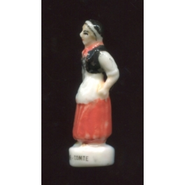 Single feve from Costumes traditionnels de nos régions n°1 / 0.5p4f16