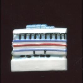 Fève à l'unité Des trains pas comme les autres II n°6 / 0.5p7f5