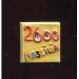 Fève à l'unité Marseille 2600 n°1 / 0.5p7c12